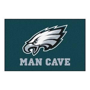 NFL Philadelphia Eagles Green Man Cave 2 ft. x 3 ft. Area Rug