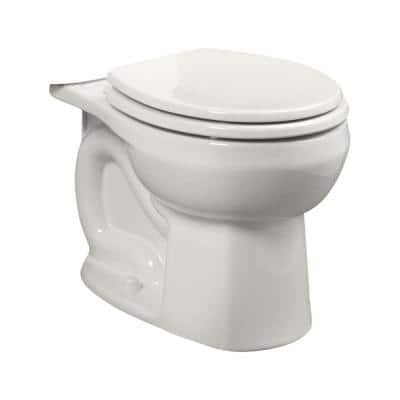 Colony Universal 1.28 GPF or 1.6 GPF Round Front Toilet Bowl Only in White