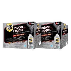 2 oz. 6-Count Indoor Insect Killer Fogger (2-Pack)