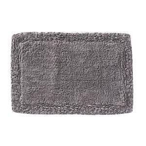 Gray 20 in. x 30 in. Cotton Rosario Bath Rug
