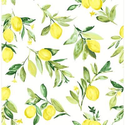 Limon Chartreuse Fruit Chartreuse Wallpaper Sample