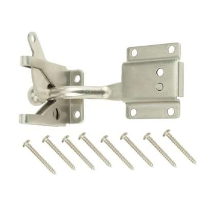 Stainless Steel Self-Adjusting Gate Latch