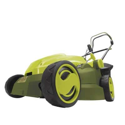 16 in. 12 Amp Corded Electric Walk Behind Push Mower with Mulcher