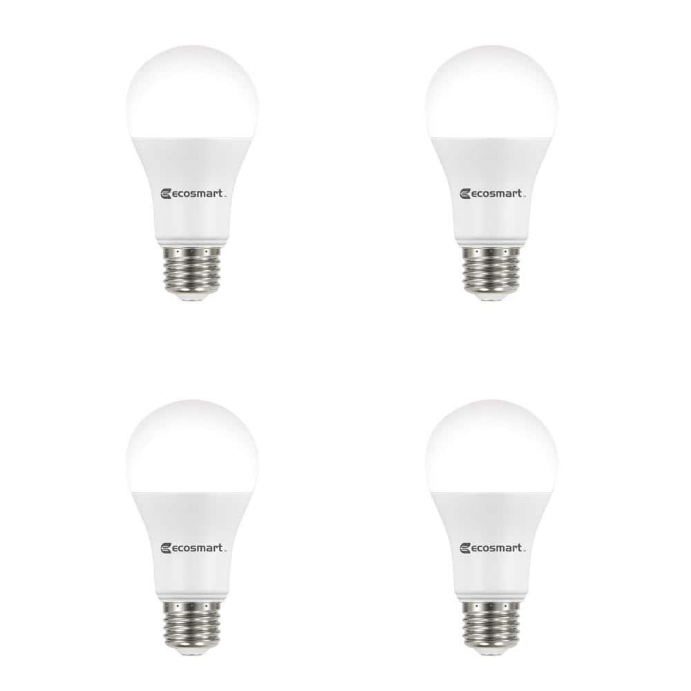 4 PACK 15W Greenlite LED 100 Watt Equivalent Dimmable A19 Light Bulbs 3000K