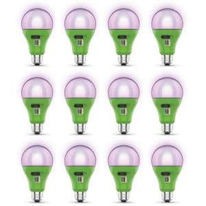 17-Watt A21 Selectable Spectrum for Seeding, Growing Blooming Indoor Greenhouse E26 Plant Grow LED Light Bulb (12-Pack)