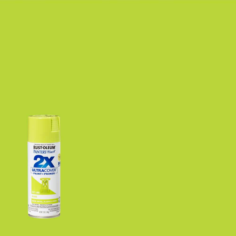Rust-Oleum Painter's Touch 2X 12 oz. Gloss Key Lime General Purpose Spray Paint