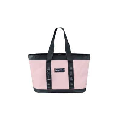Carry All Tote Bag Pink and Grey