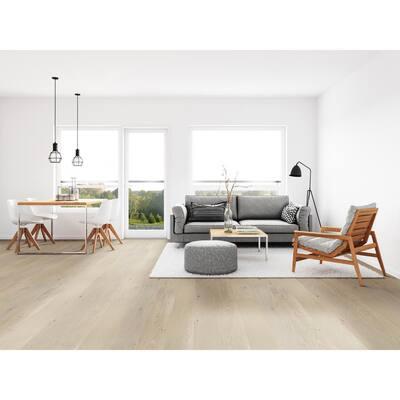 Blanca Peak Oak 7 mm T x 6.5 in. W x Varying Length Engineered Click Waterproof Hardwood Flooring (21.67 sq. ft./case)
