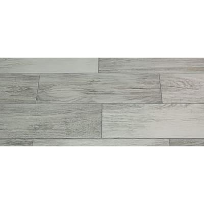 Oak Grigio 7 in. x 24 in. Porcelain Floor and Wall Tile (20.45 sq. ft. / case)