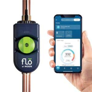 Flo by 0.75 in. Water Leak Detector with Automatic Water Shut Off Valve