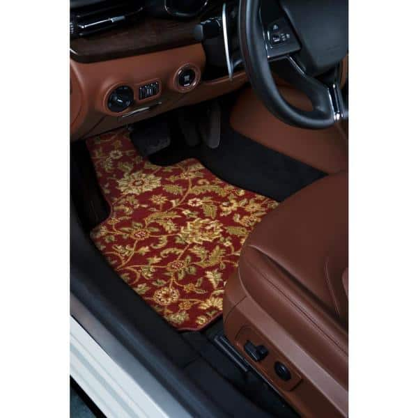 GGBAILEY D2916A-F1A-RD-IS Custom Fit Car Mats for 2000 2001 Ford Focus Wagon Red Oriental Driver /& Passenger Floor