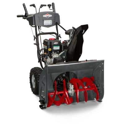 27 in. Two-Stage Electric Start Gas Snow Blower