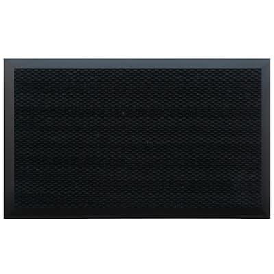 Teton Residential Commercial Mat Black 60 in. x 120 in.