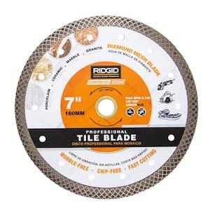 7 in. Turbo Mesh Rim Diamond Blade