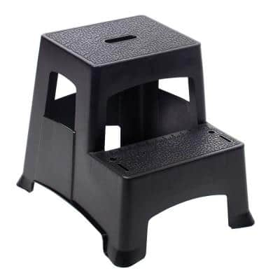 2-Step Plastic Project Stool Ladder