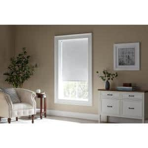 Bali Cut To Size Cut To Size Woven Taupe Cordless Room Darkening Fade Resistant Roller Shades 35 75 In W X 72 In L 37 8101 22 The Home Depot