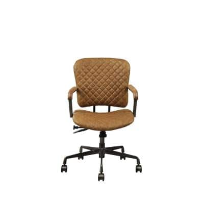Josi Coffee Top Grain Leather Executive Office Chair