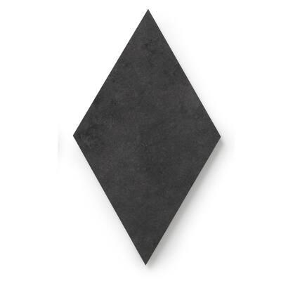 MosaiCore Ink Rhombus 9 3/4 in. x 17 in. Glue Down Luxury Vinyl Tile (15.15 sq.ft./Case)