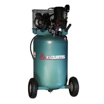 30 Gal. 2 HP Portable Electric 120-Volt Single Phase Air Compressor