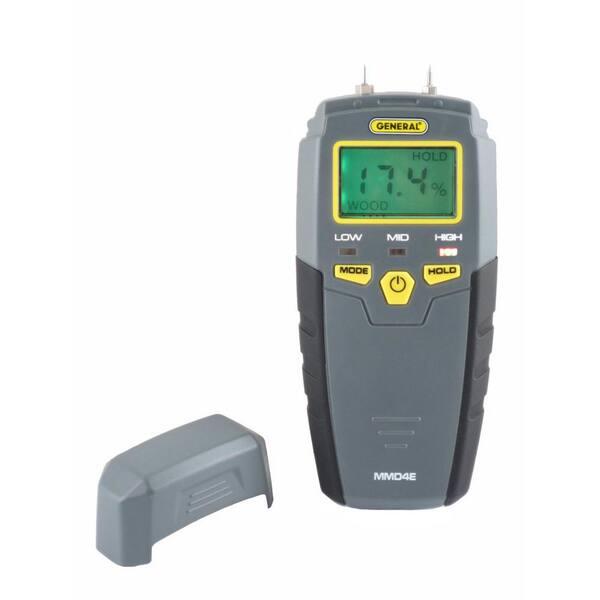 Moisture Tester Pin Type Backlit Water Leak Detector Details about  /Digital Moisture Meter