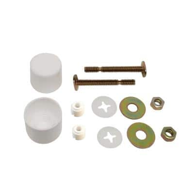 1/4 in. x 2-1/4 in. Toilet Bolts with Caps