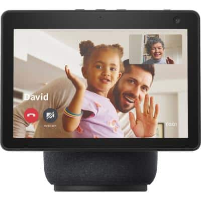 Echo Show 10 (3rd Gen) HD Smart Display with Motion and Alexa in Charcoal