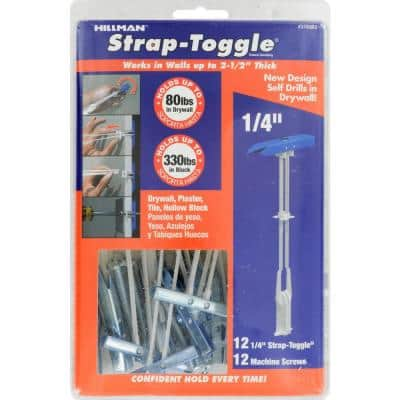 1/4 in. Strap Toggle (12-Pack)