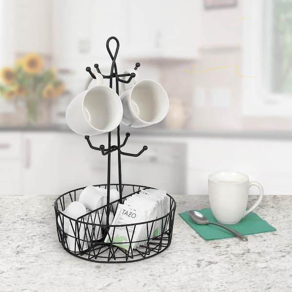 Mug Stand Rack Holder Cup Mug Tree Classic White Collection