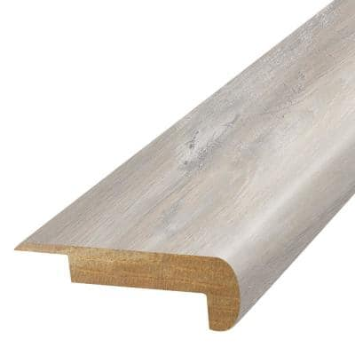 Glaze 3/4 in. T x 2-1/8 in. W x 78-3/4 in. L Laminate Stair Nose Molding