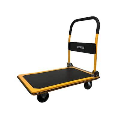 660 lbs. Capacity Heavy-Duty Folding Platform Cart