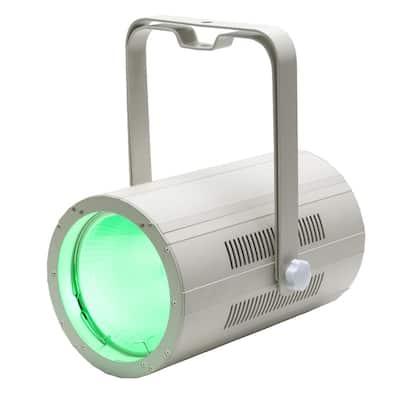 Cannon Quad 150-Watt LED 4-1 RGBA COB Wash Pearl High Bay Integrated LED Commercial Light