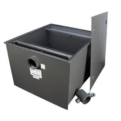 Grease Interceptor Trap 150 lbs. / 75 GPM