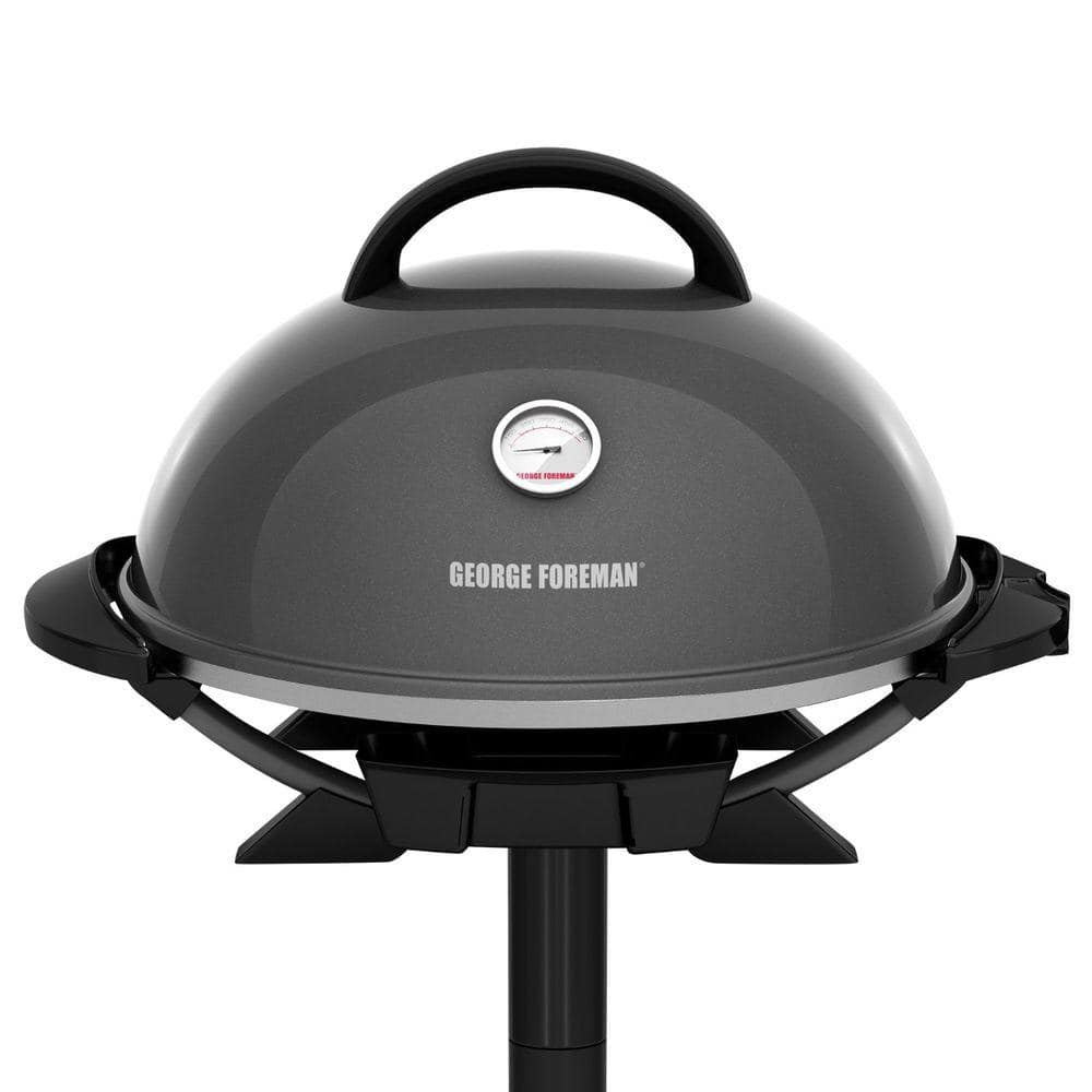 DM Grill GR034 Black Steel MANGAL 3 MM Thickness BBQ LID with TEMERATURE Gauge Outdoor Patio