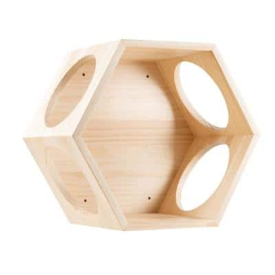 MYZOO BusyCat Wall Mounted Small Wood Cat Bed