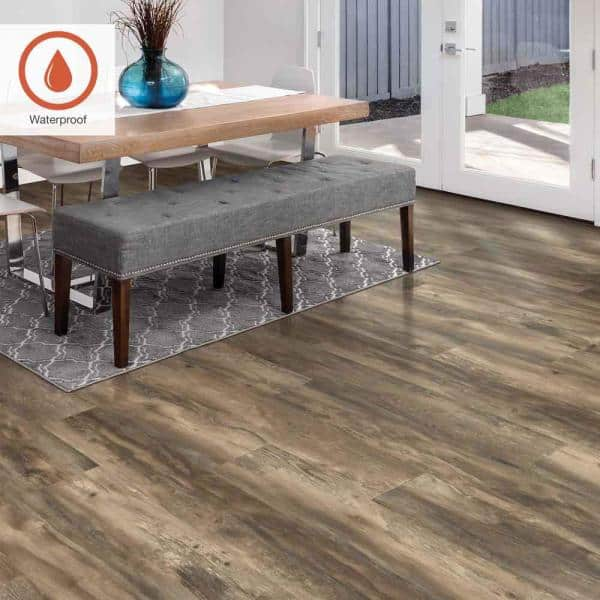Pergo Outlast 7 48 In W Weathered, Weathered Gray Laminate Flooring