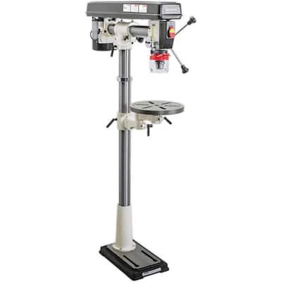 Shop Fox 1/2 HP 34-inch 110-Volt 1/2 HP Floor Radial Drill Press