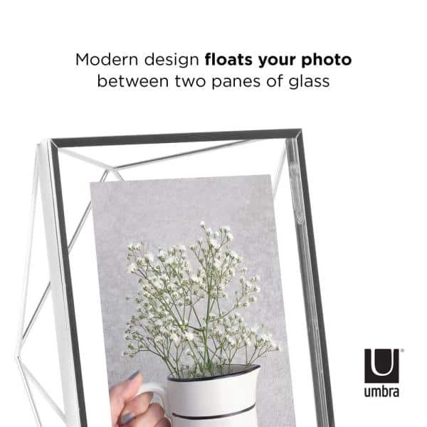Umbra Prisma 5 In X 7 In Chrome Picture Frame 313015 158 The Home Depot