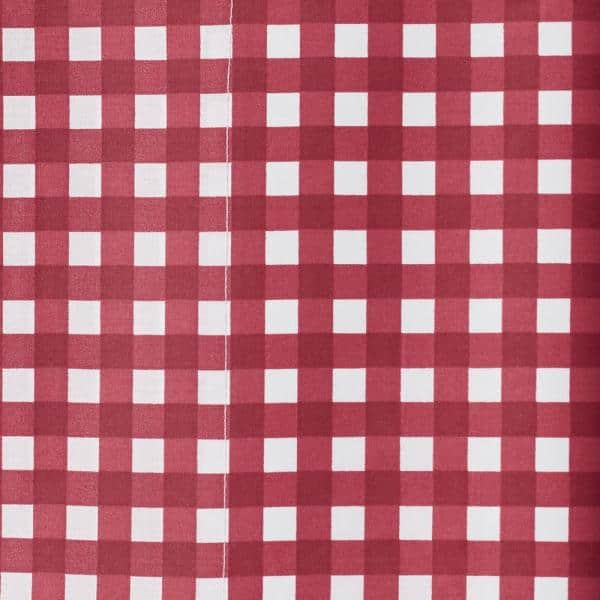 Cstudio Home By The Company Store Gingham Classic Red 200 Thread Count Cotton Percale Standard Pillowcase Set Of 2 30270c Std Clsc Red The Home Depot