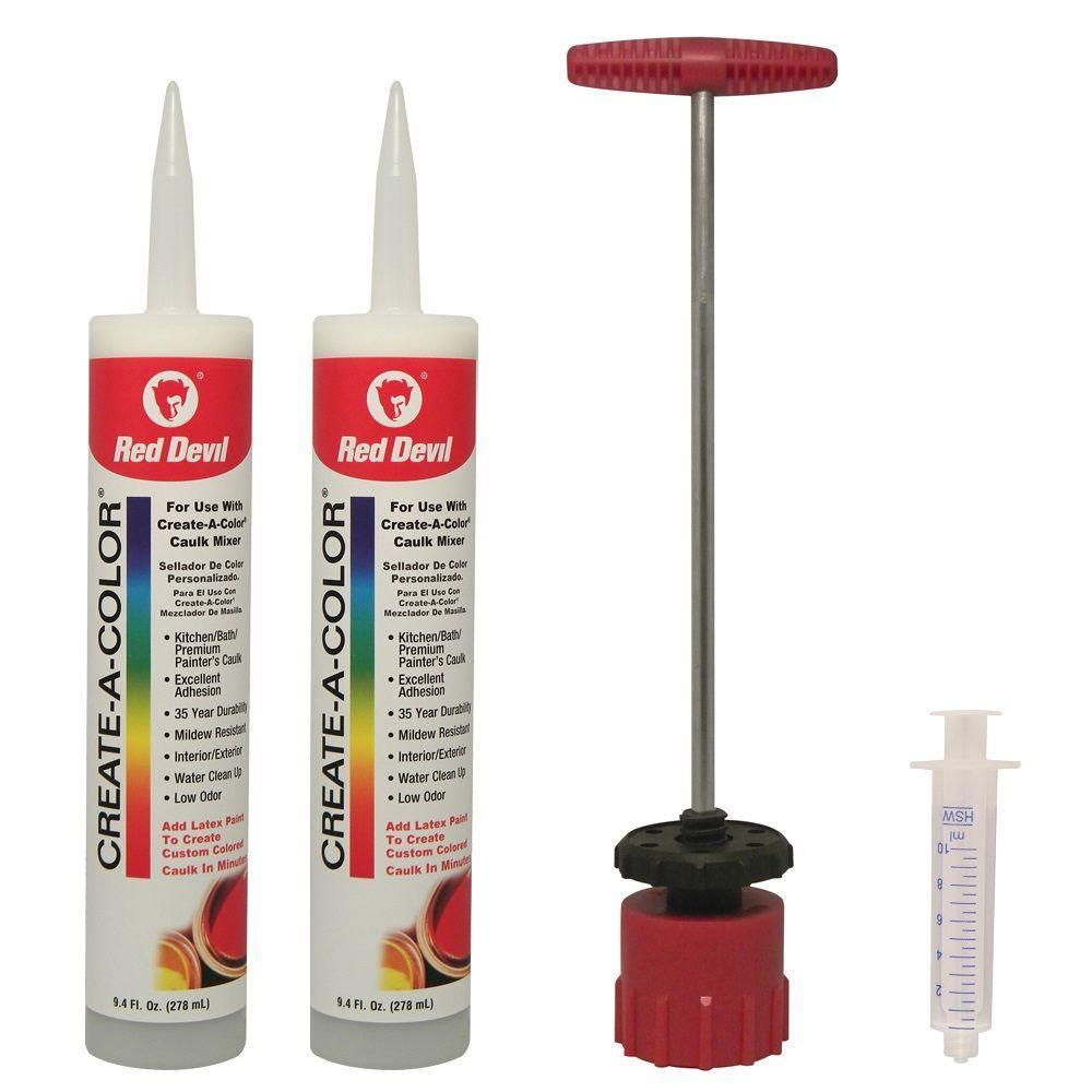 9.4 oz. Create a Color Caulk Kit (2-Tubes)