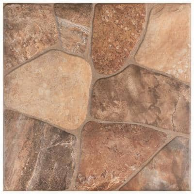 Lyon Caliza 17-3/4 in. x 17-3/4 in. Ceramic Floor and Wall Tile (18 sq. ft. / case)