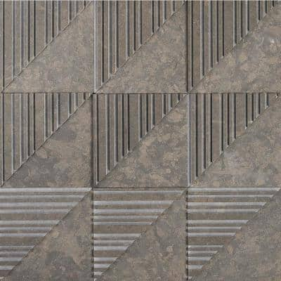 Michael Habachy Sliced Caracus 8 in. x 8 in. Limestone Wall Tile (2.15 sq. ft./Case)