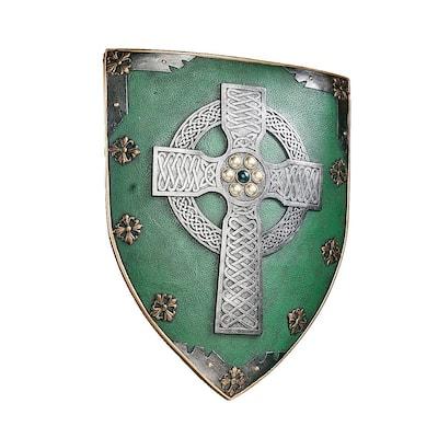 Celtic Warriors Sculptural Wall Shield