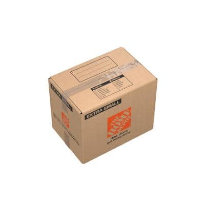 15 in. L x 10 in. W x 12 in. Extra-Small Moving Box with Handles (20 Pack)