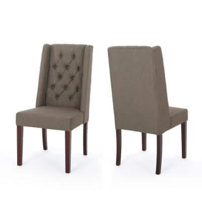 Blount Oregano Fabric Upholstered Dining Chair (Set of 2)
