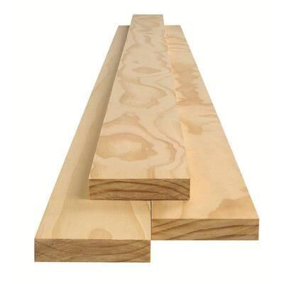 2 in. x 2 in. x 6 ft. Select Radiata Pine Board