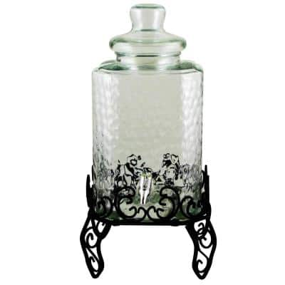 Moreauville 9 Qt. Beverage Dispenser with Wire Rack