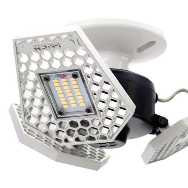 Stkr Trilight 4000 Lumen Motion Sensor Ceiling Light 00342 The Home Depot