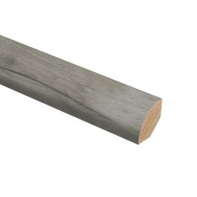 Castle Gray Oak 3/4 in. Thick x 3/4 in. Wide x 94 in. Length Hardwood Quarter Round Molding