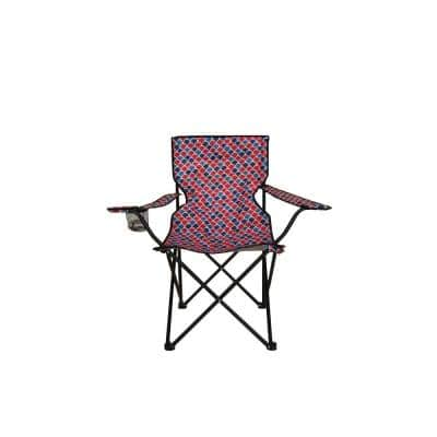 Fish Scale Version Folding Bag Chair