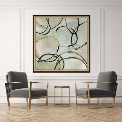 Infinity Rings II Framed Giclee Wall Art